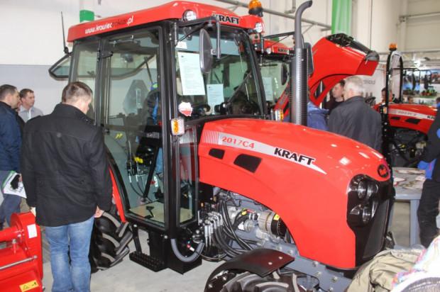 Ciągniki sadownicze Kraft na targach Agro-Park 2020