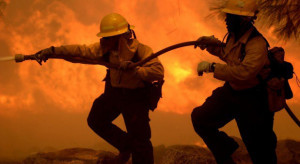 Grójeckie: Pożar gospodarstwa. Spłonął budynek inwentarski i maszyny