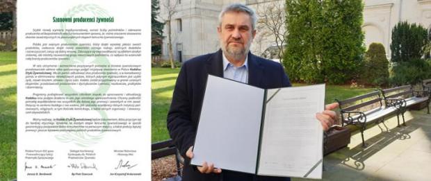 W resorcie rolnictwa podpisano Kodeks Etyki Żywnościowej