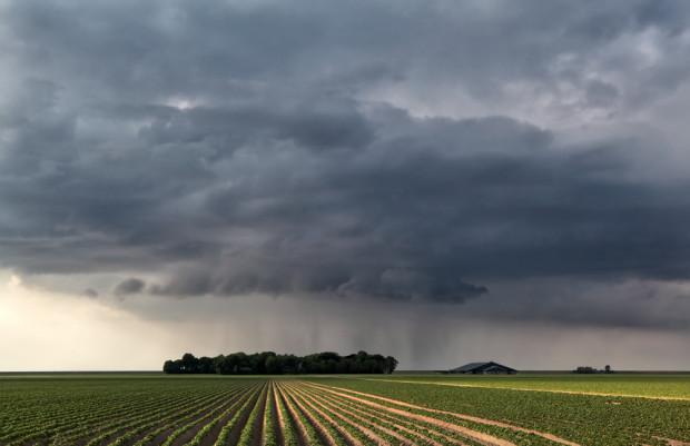 W najbliższych dniach możemy liczyć na przelotne opady deszczu
