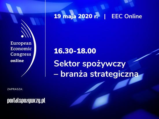 EEC Online: Sektor spożywczy – branża strategiczna. Zapraszamy na debatę