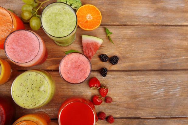 Szklanka soku może być porcją warzyw i owoców dziennie