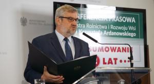 Ardanowski podsumował dwa lata swojej pracy na stanowisku ministra rolnictwa