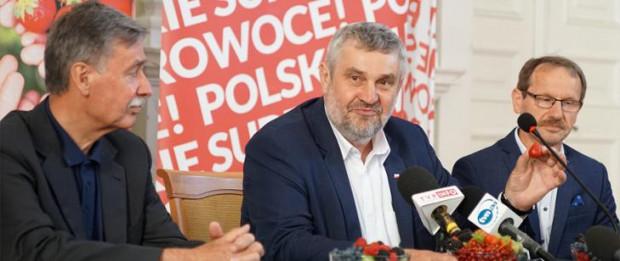 Ardanowski: Trzeba wyeliminować fałszowane produkty włożone w polskie opakowania