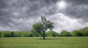 IMGW: burze z gradem niemal w całym kraju