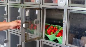 Automaty sprzedające owoce i warzywa stały się hitem w północno-zachodnich Chinach