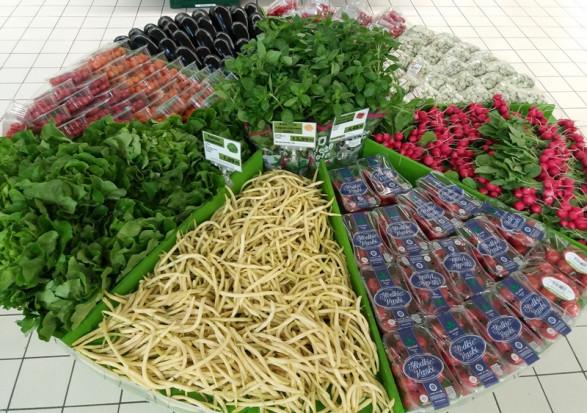 Auchan promuje owoce i warzywa od polskich dostawców