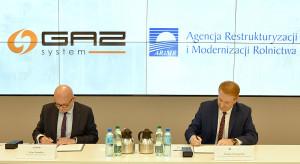 ARiMR podpisała porozumienie o współpracy z GAZ-SYSTEM