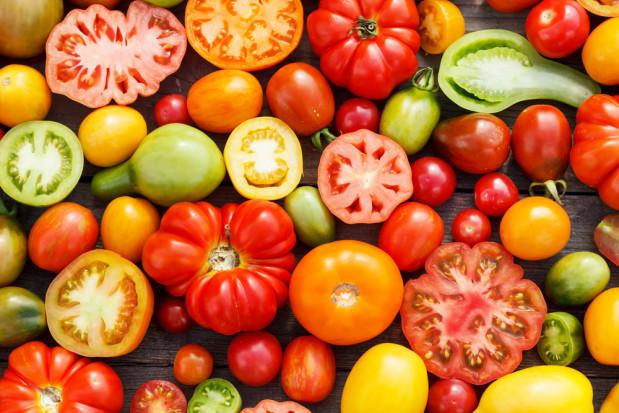 Pomidory pomagają wesprzeć prawidłowe nawodnienie organizmu
