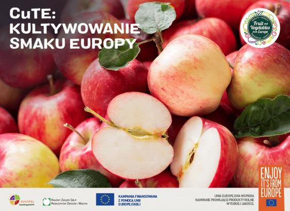 Polskie jabłka promowane w ogólnoeuropejskiej kampanii