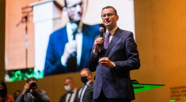 Premier Mateusz Morawiecki na Europejskim Kongresie Gospodarczym w Katowicach
