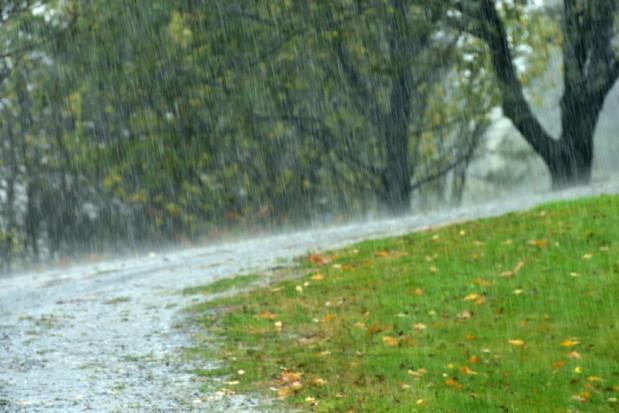 Pogoda: zachmurzenie duże z większymi przejaśnieniami oraz z opadami deszczu