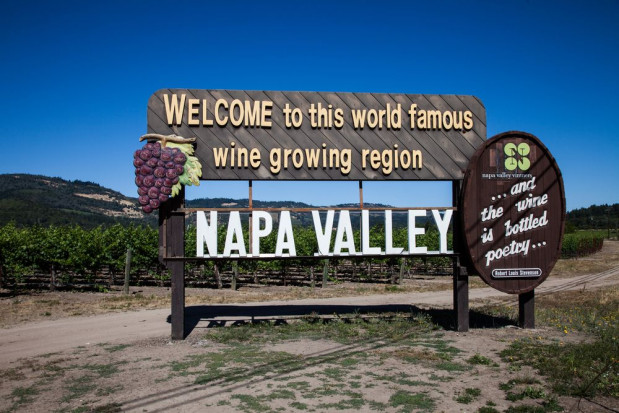 USA, Kalifornia: Pożar dotknął główny ośrodek przemysłu winiarskiego