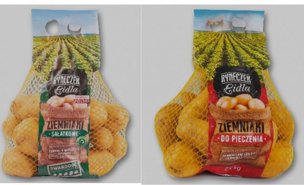Lidl wprowadza nowy system oznaczeń na opakowaniach ziemniaków