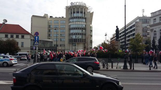 Konfederacja popiera protest rolników w Warszawie
