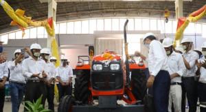 Kubota ruszyła z masową produkcją ciągników w północnych Indiach