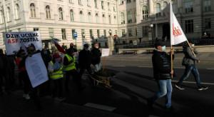 Utrudnienia w ruchu w całym kraju w związku z protestem rolników