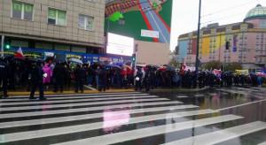 Warszawa: rozpoczął się protest rolników w stolicy