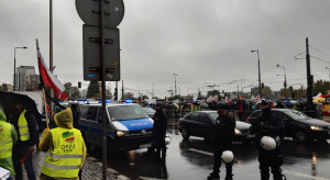 AGROunia: taksówkarze blokują ulice na znak solidarności z rolnikami
