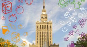 Warszawa: PKiN rozbłyśnie 5 kolorami z okazji Światowego Dnia Owoców i Warzyw