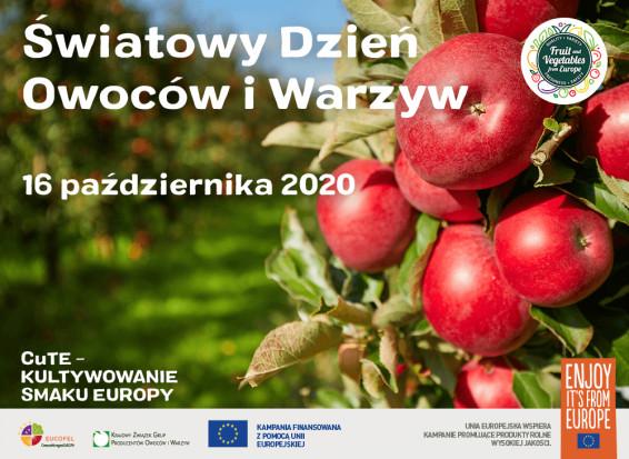 16 października przypada Światowy Dzień Owoców i Warzyw