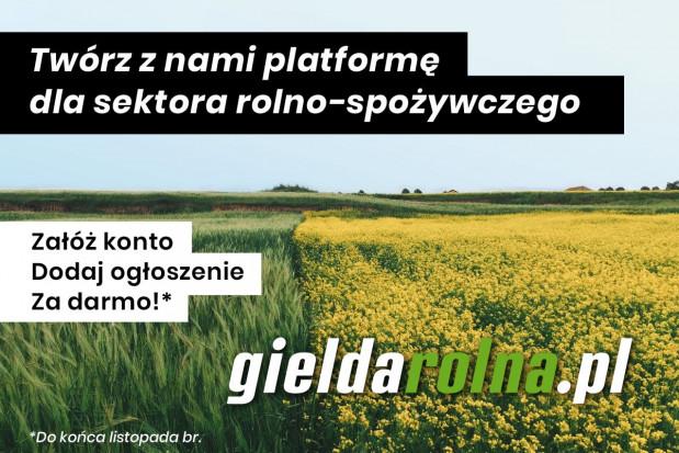 Wystartowała gieldarolna.pl - nowoczesna platforma ogłoszeniowa dla branży rolno-spożywczej