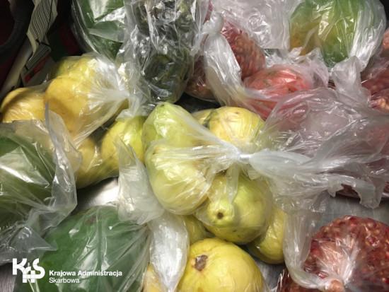 Na Lotnisku Chopina skonfiskowano 176 kg produktów roślinnych przywiezionych nielegalnie
