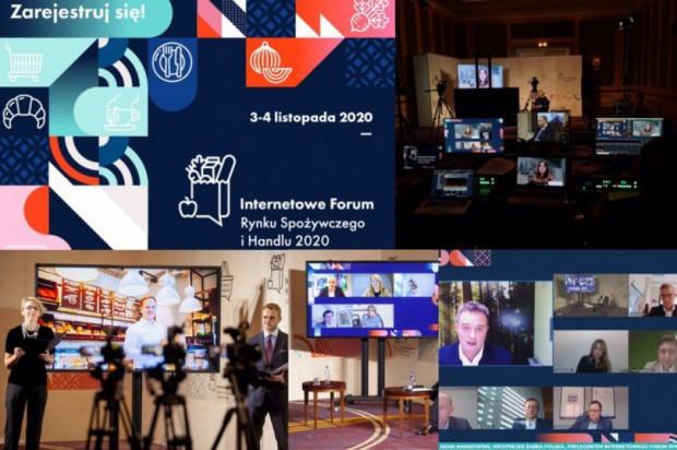Internetowe Forum Rynku Spożywczego i Handlu - zobacz plan retransmisji debat!