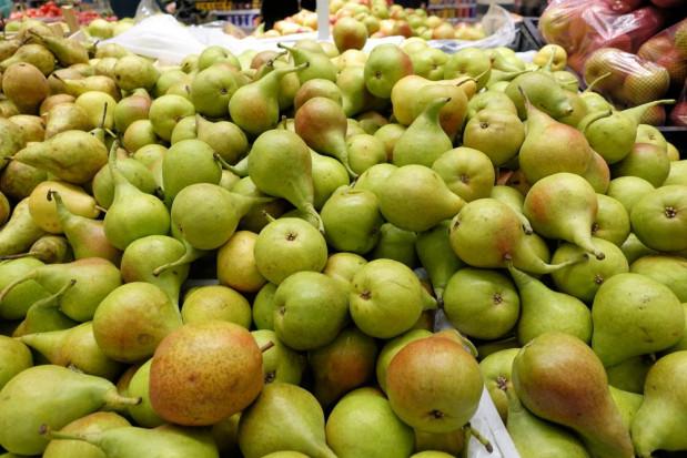 Stany Zjednoczone głównym dostawcą gruszek na rynek meksykański