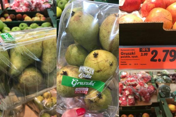 Ceny i ekspozycja gruszek w sieciach handlowych pozostawiają wiele do życzenia