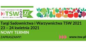 TSW 2021 - zmiana terminu na 23-24 kwietnia 2021 r.