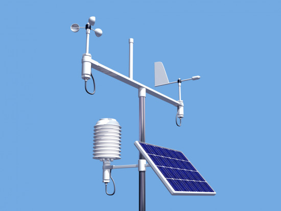 Powiat grójecki: nowoczesna stacja meteo w systemie monitoringu suszy