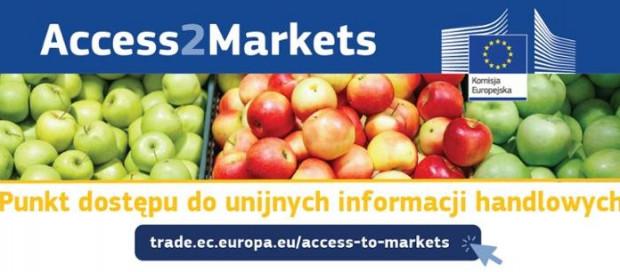 Access2Markets- nowy portal wspierający firmy w handlu międzynarodowym