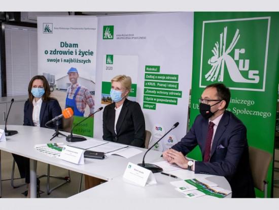 KRUS podsumowała działania prewencyjne w 2020 roku