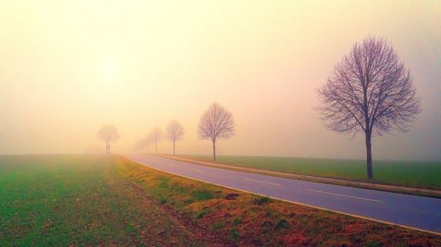 IMGW: mgły i marznący deszcz w większości województw