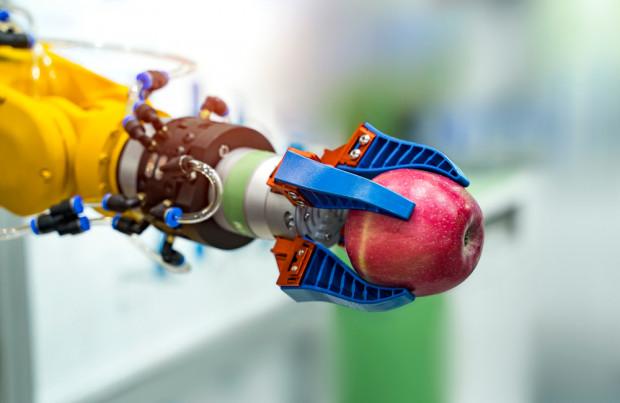 Japończycy opracowali robota do zbioru jabłek i  gruszek