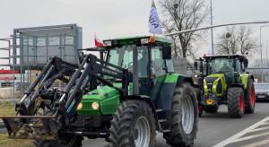 Łódzkie: rolnicy z Agrounii blokują rondo pod Strykowem