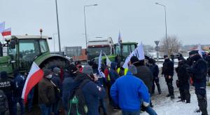 Zakończyła się blokada ronda pod Strykowem - czego domagali się rolnicy?