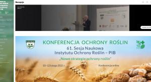 Konferencja Ochrony Roślin - 61. SNIOR rusza 10 lutego online