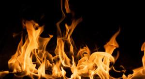 Podlaskie: pożar w hali produkującej maszyny rolnicze i komunalne