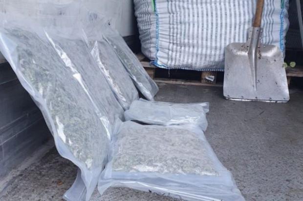 Narkotyki za ponad 10 mln zł ukryte w transporcie ogórków