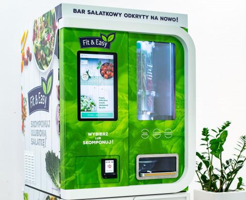Green Factory testuje innowacyjnego robota sałatkowego