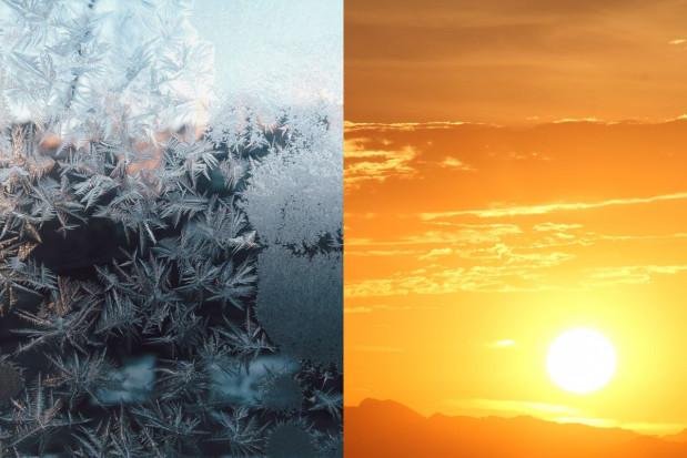 Wyjątkowo duże różnice temperatur to sygnał zmian w klimacie