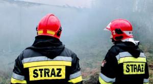 Spłonęło 7 ciagników w komisie