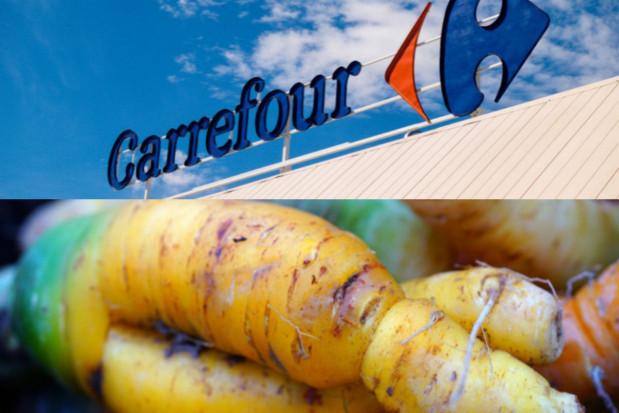 Carrefour kupi od rolników nieperfekcyjne jabłka i marchew