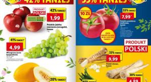Lidl i Biedronka: polskie jabłka za 1,99 zł/kg, truskawki - 4,99 zł / 500 g