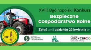 """KRUS organizuje konkurs na """"Bezpieczne Gospodarstwo Rolne"""""""
