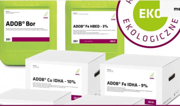 6 nawozów ADOB z certyfikatem ekologicznym