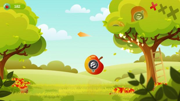 """Gra """"Ninja z sadu"""" będzie zachęcać dzieci do jedzenia jabłek"""