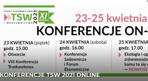 Konferencje TSW 2021 odbędą się online
